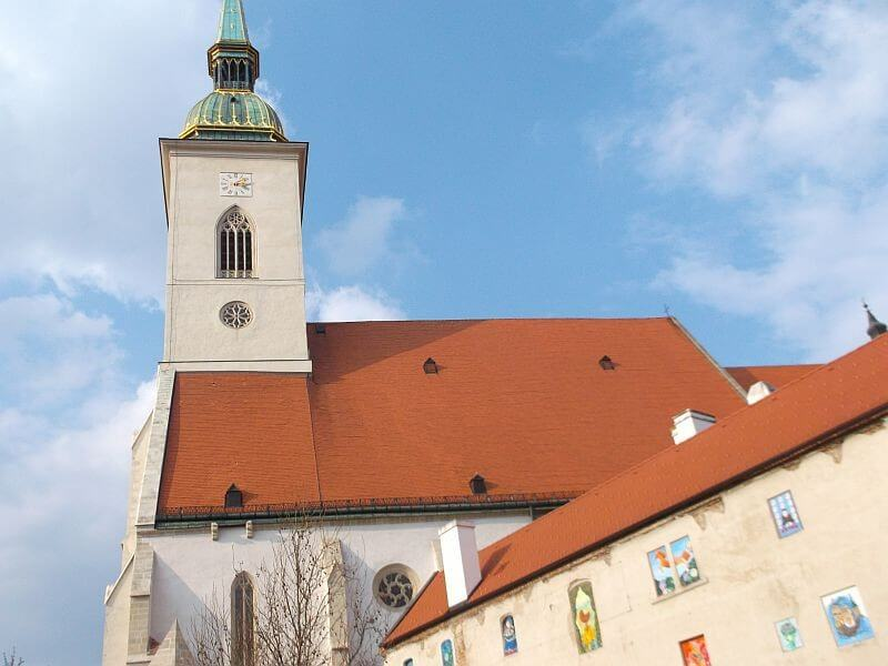 Bratislava Castle and Slavin