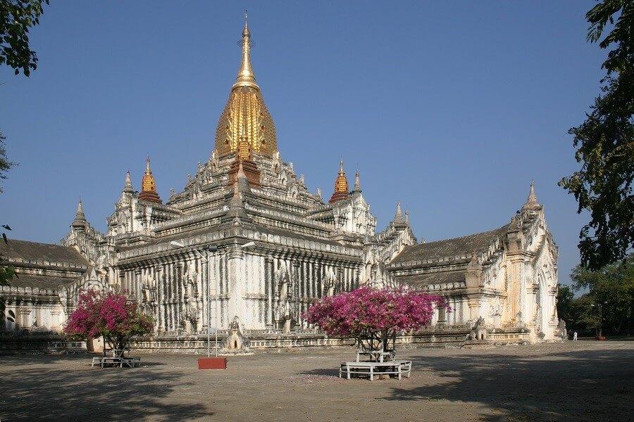 Active through the land of the golden pagodas