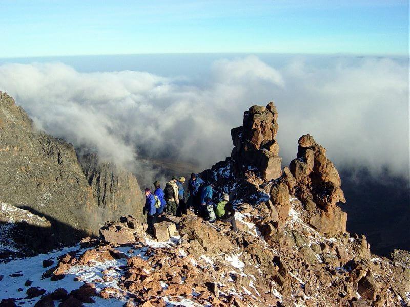 5 Days Mount kenya Trekking