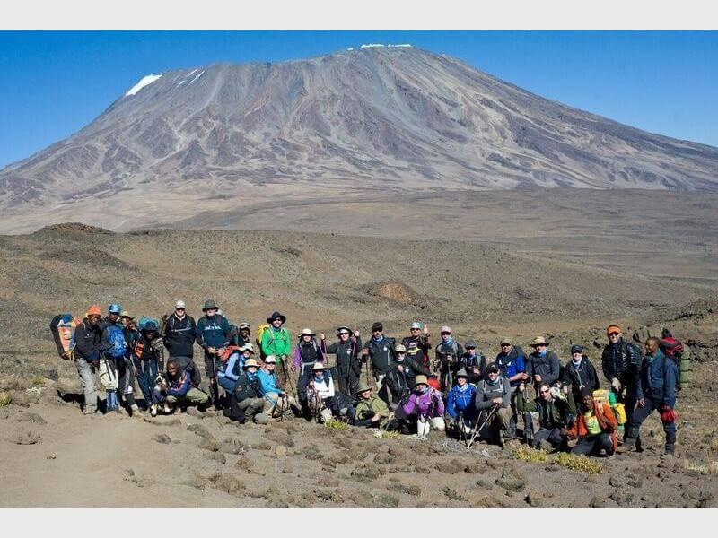 7 days mount Kilimanjaro trekking-Marangu route