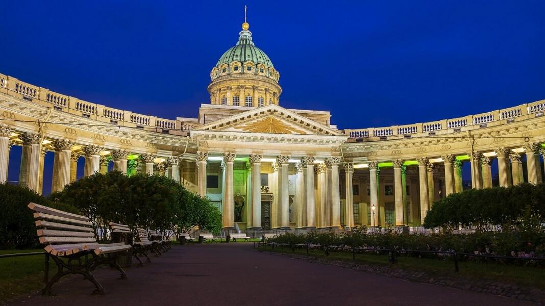 Arrival in St.Petersburg