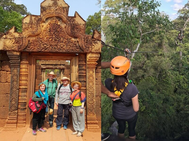Active Natural Angkor Discovery Tours - 5 Days