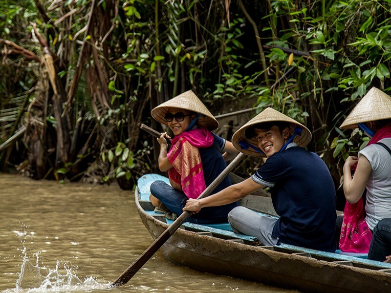 Mekong Delta – Cai Be floati