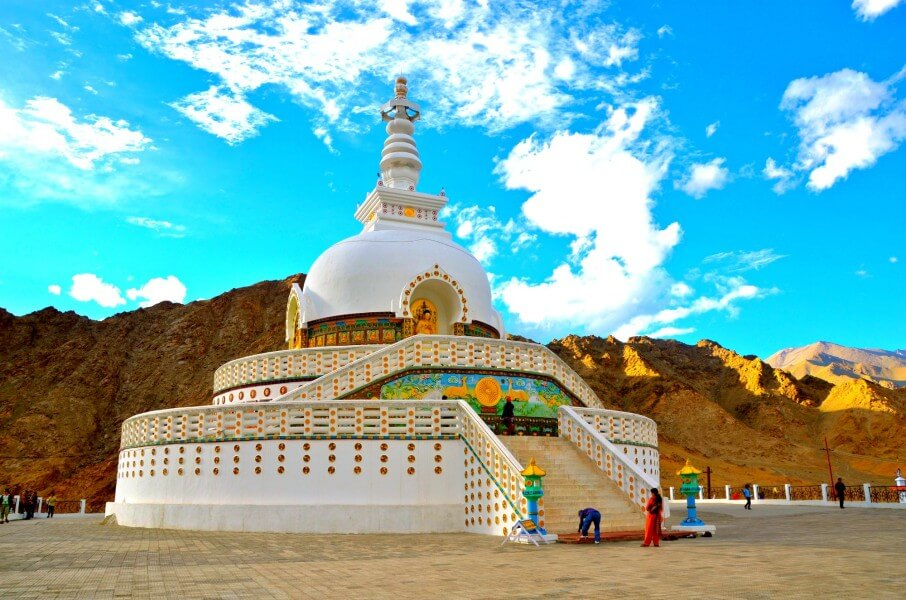 Arrival and Leh sightseeing