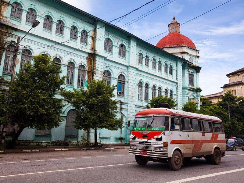 Yangon – Arrival