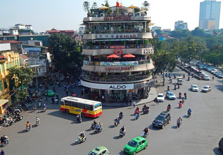 Hanoi city tour by motorbike
