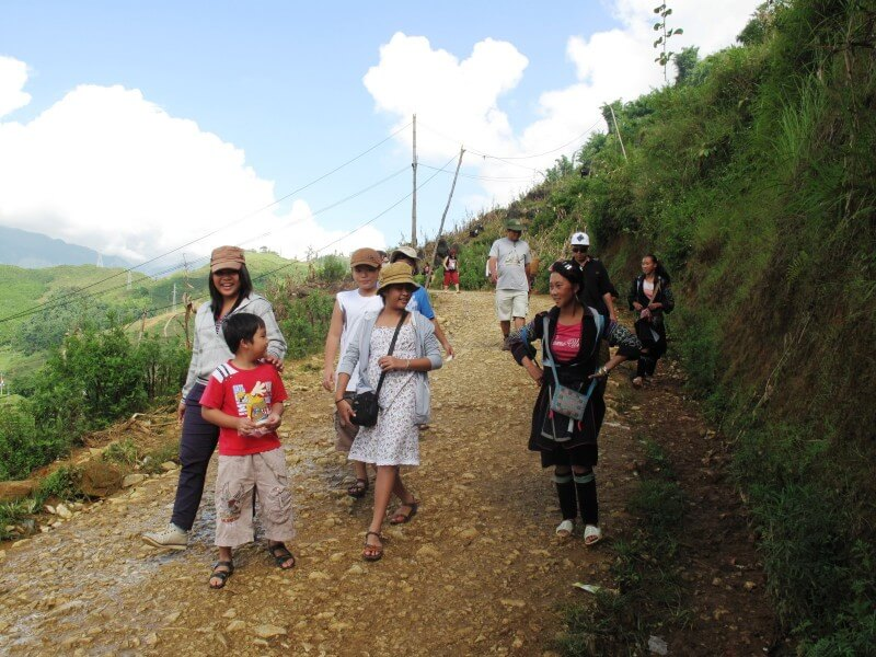 Sapa - trekking to villages (B)