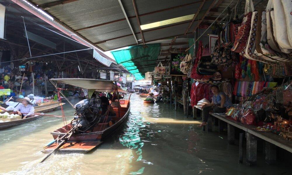 Bangkok – Damnoen Saduak Flo