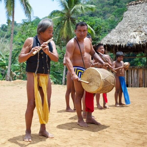 Chagres River & Embera India