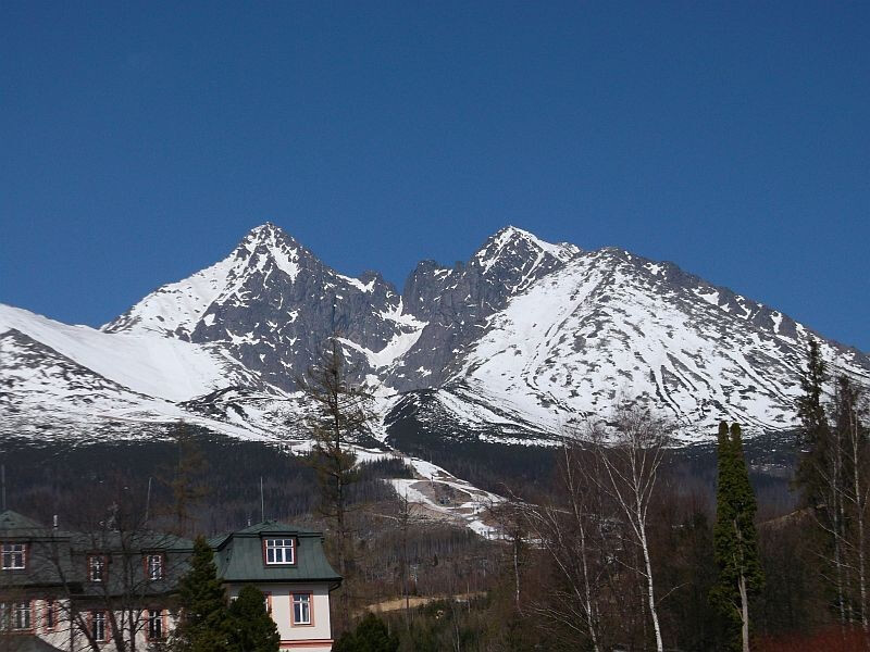 High Tatras and Levoča