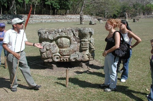 Mayan Footprints