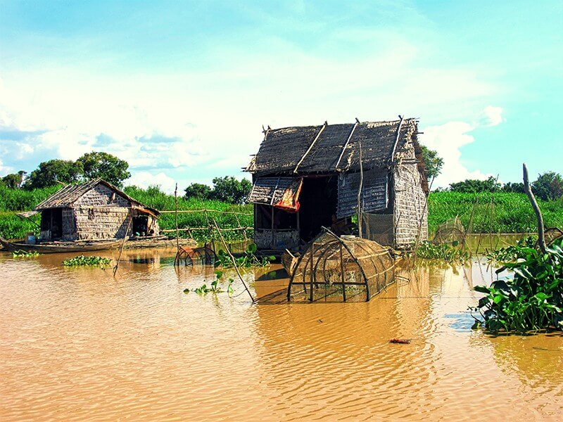 Around Tonle Sap and Beach 12 Days/11 Nights