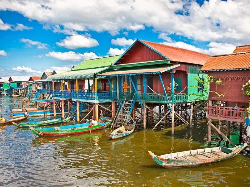 Siem Reap- Visit Tonle Sap L