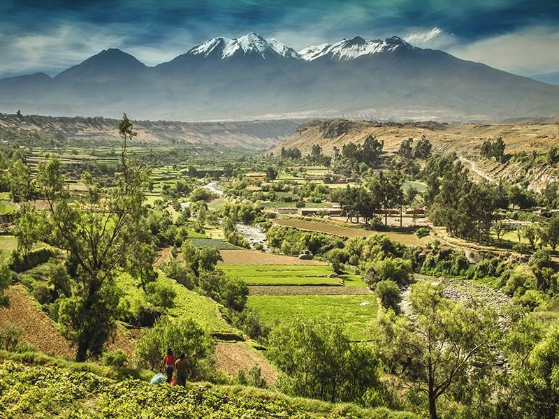 Trip to Arequipa & City Tour