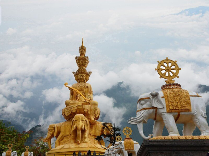 5 Days Sichuan Tour with Hiking at Mt. Emei
