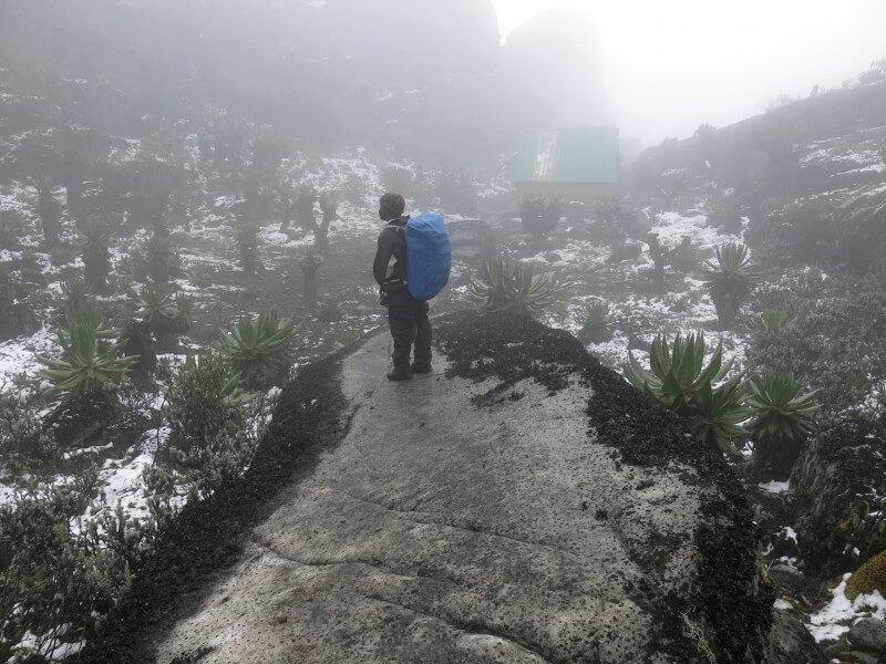 Bujuku-Elena Hut (4541m).