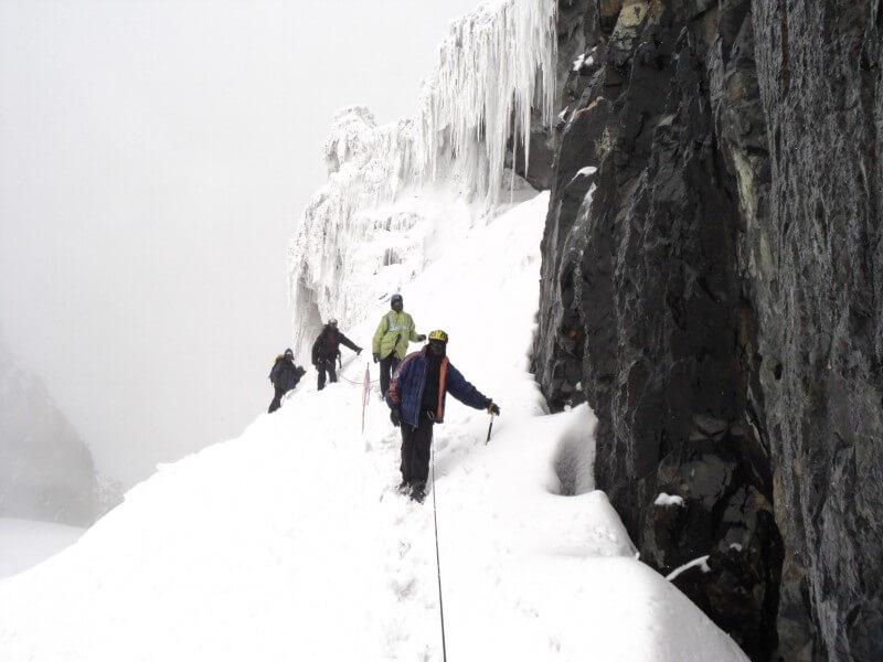 Guy Yeoman Hut (3260m)