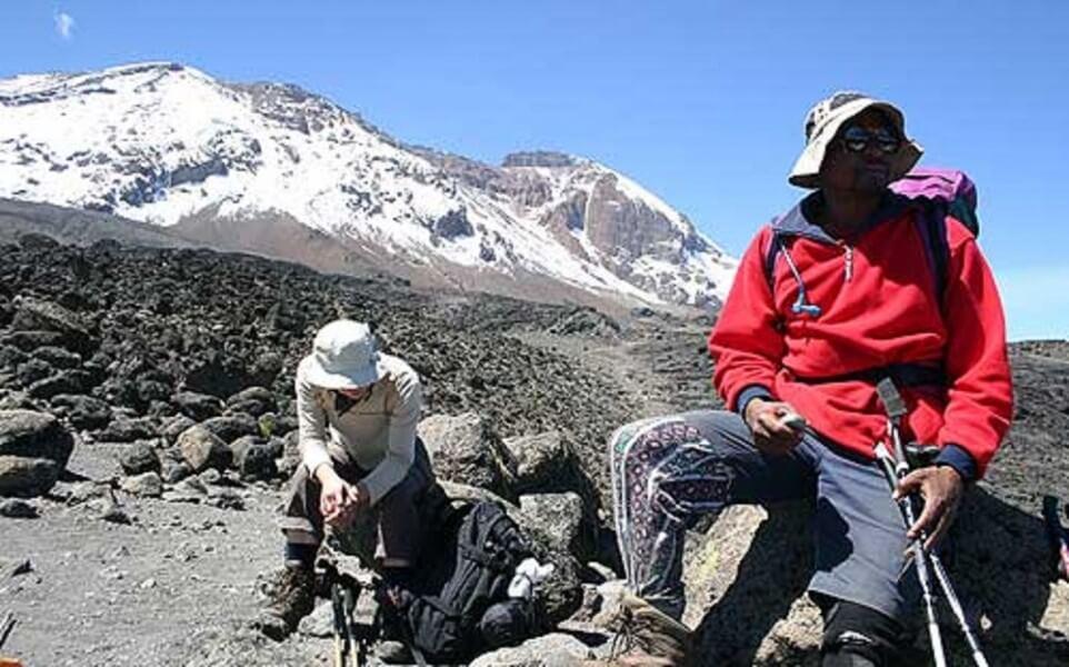 6 Kibo Hut - Uhuru Peak - H