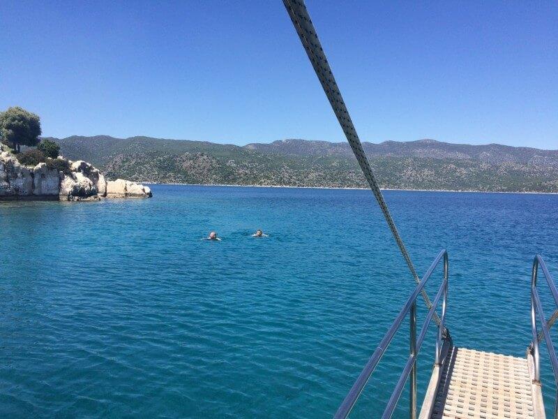 Boat Trip in Kekova