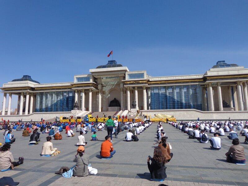 Arrival in Ulaanbaatar