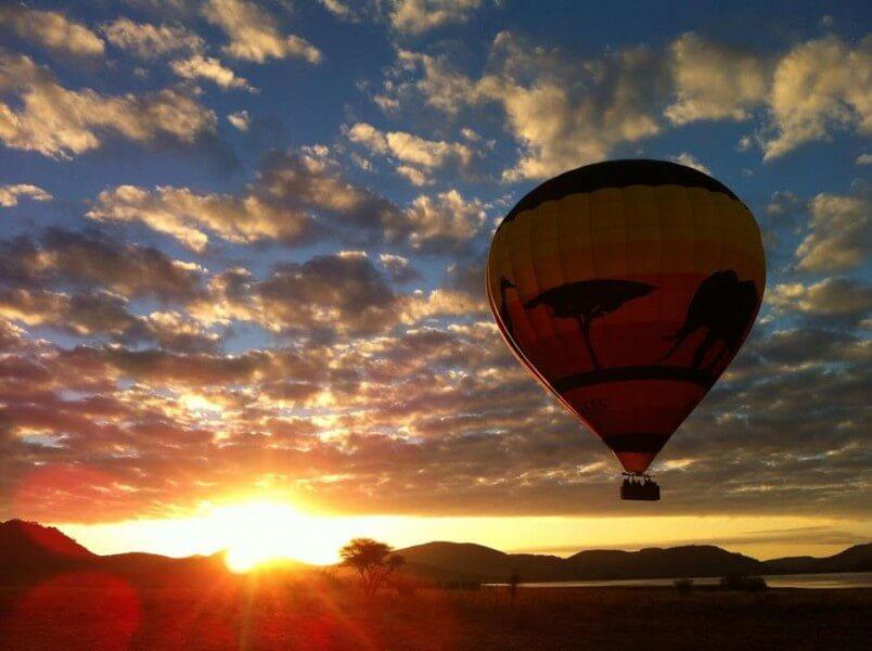 Highlight Hot Air Balloon Ri