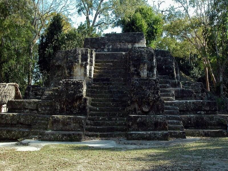 Tikal - Uaxactun - Tikal