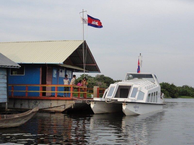 Boat Battambang–Siem Reap