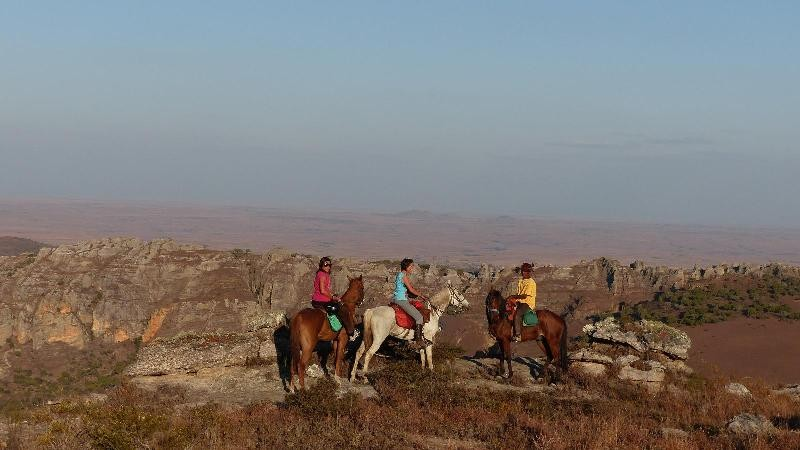 HORSE BACK RIDING IN ISALO