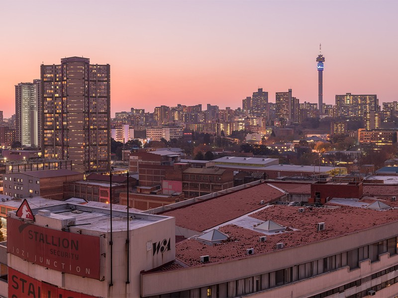 T11: Johannesburg City Stay