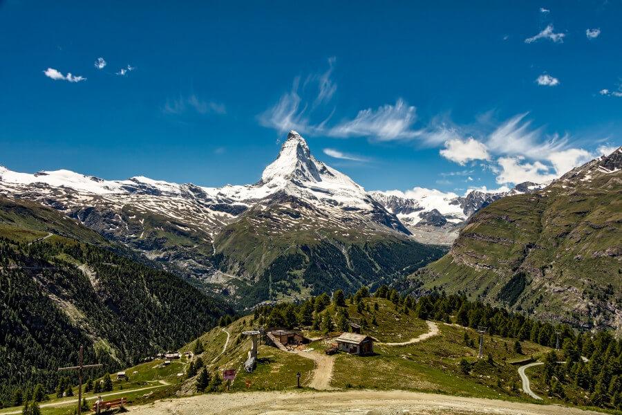 Mt. Matterhorn Glacier