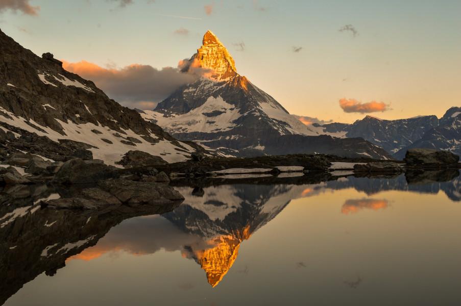 5-Lakes Walk in Zermatt Area