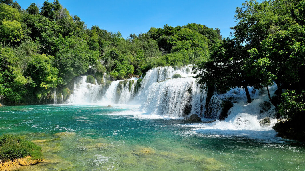 Zadar, Krka Waterfalls, Split