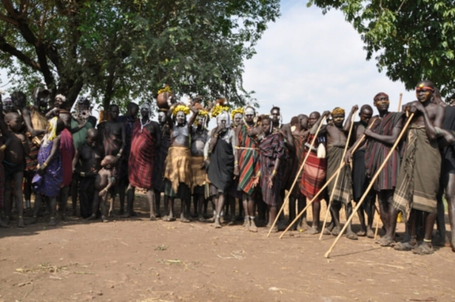 Experience the Mursi tribe in Mago Natio