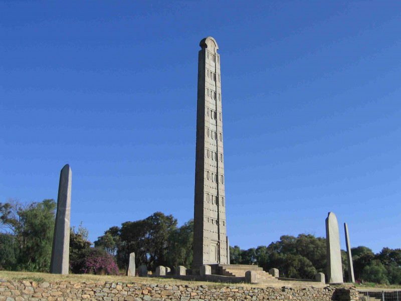 City tour of Axum