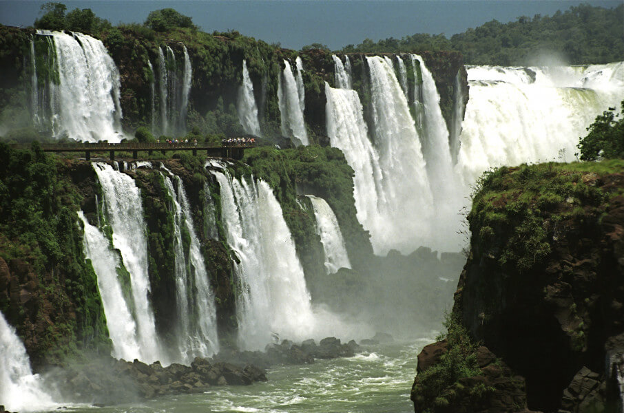 Arrival to Iguassu and Brazilian Falls
