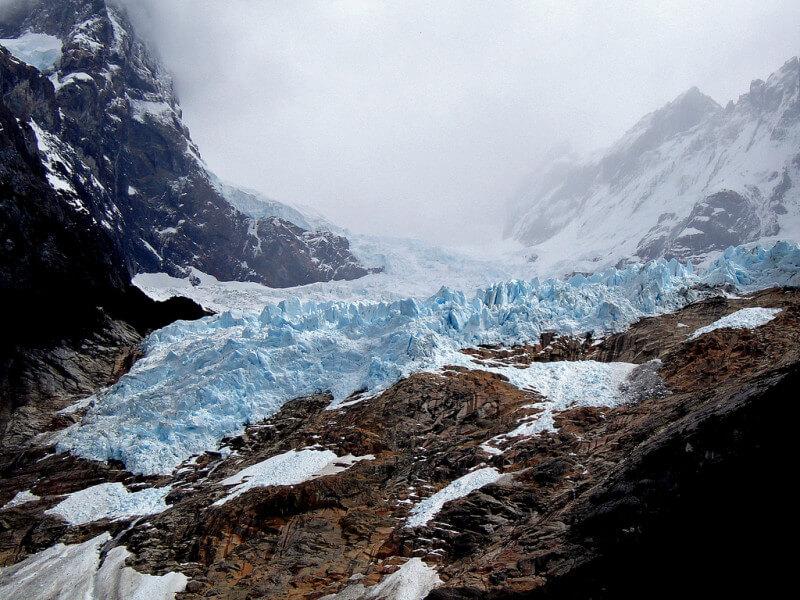 Balmaceda and Serrano Glaciers