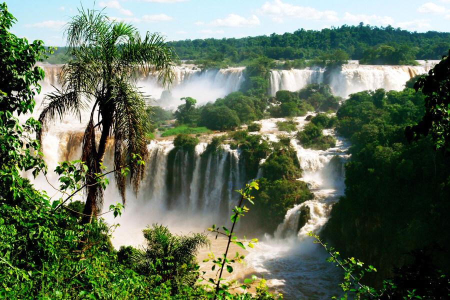 Arrival to Iguassu Falls