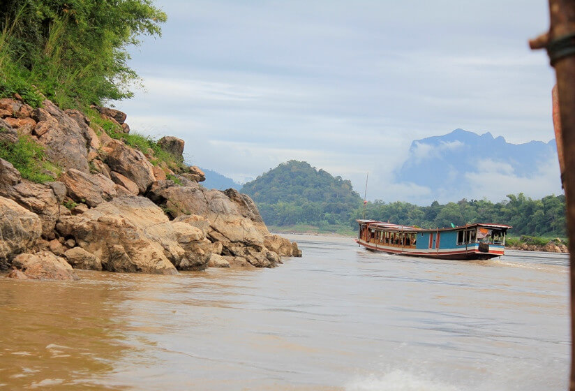 Mekong River cruise and Pak Ou Ca