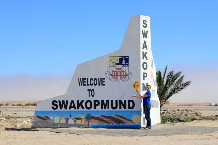 To  Swakopmund Sea Side