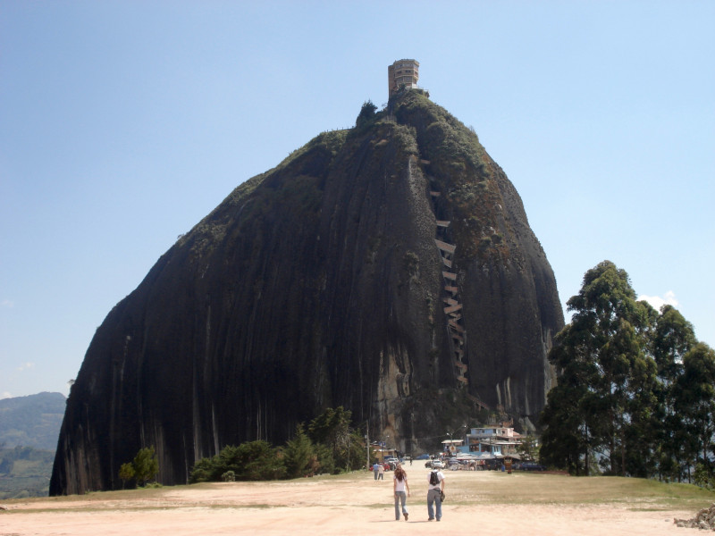 Guatape & el Peñol Rock
