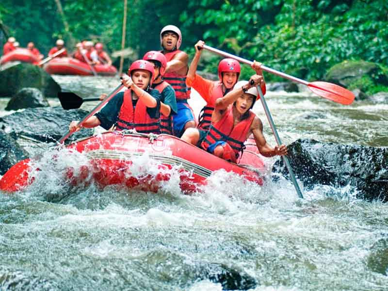 5 Day's Kintamani & River Rafting