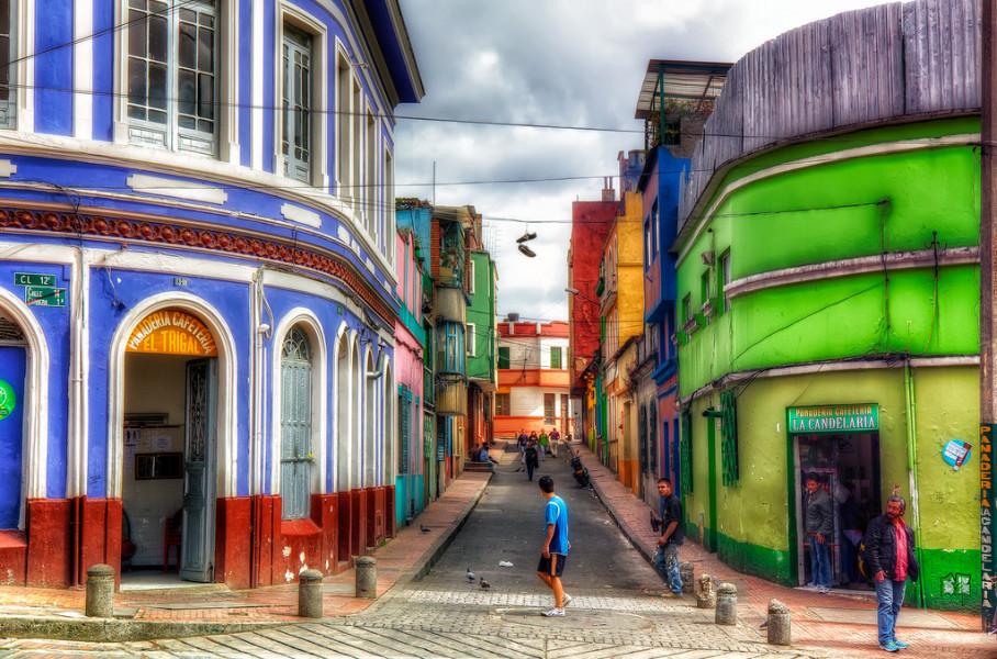 Full-day historic city tour of Bogota