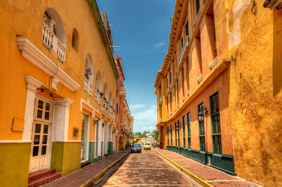 Fly to Cartagena