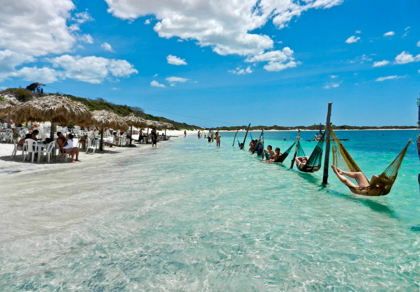 6 Days Package Fortaleza + Jericocoara