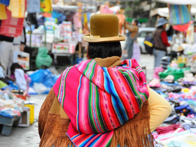 Culture, landscape and tradition of Bolivia