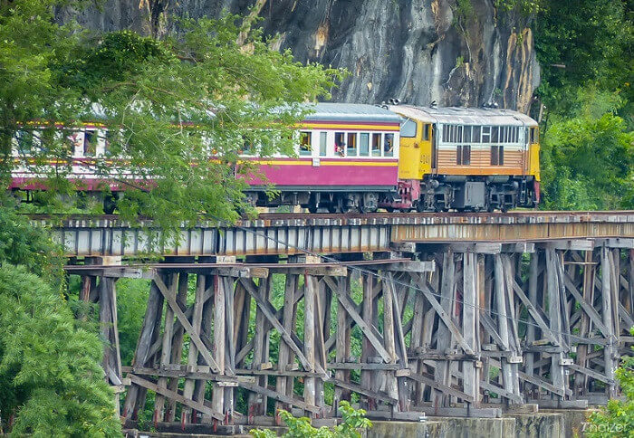 5 Days 4 Nights River Kwai Tented Camp and Hua Hin Beach
