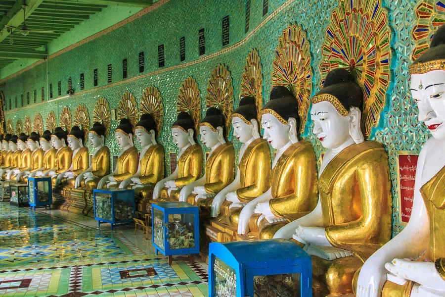 THE GOLDEN ROUTE OF MYANMAR BY BUS (9 DAYS)