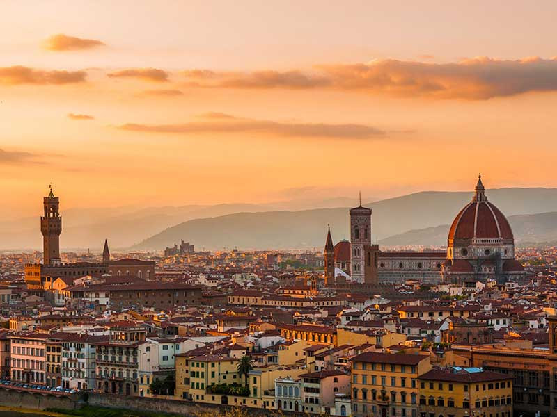Honeymoon in Italy