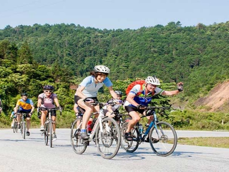 Bac Ha to Hoang Su Phi Best Mountain Bike Tour