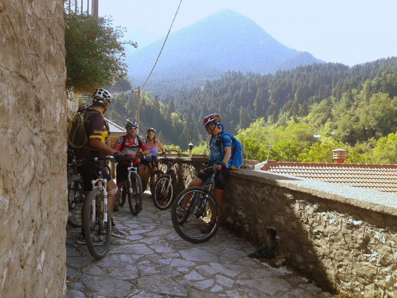Bike through Pindos mountains (7 Days)